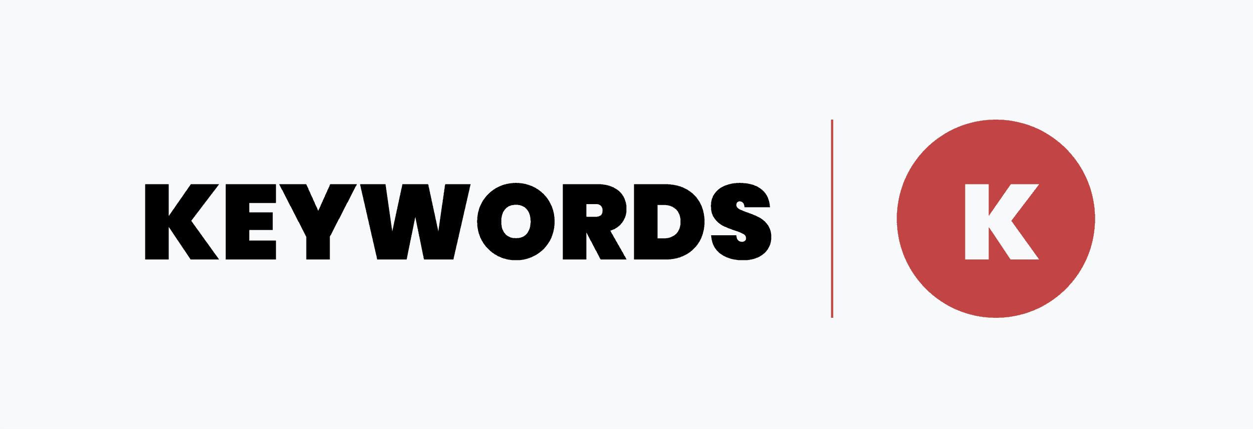 keywords-template